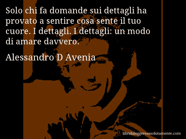 Cartolina Con Aforisma Di Alessandro D Avenia 38 Libri Da