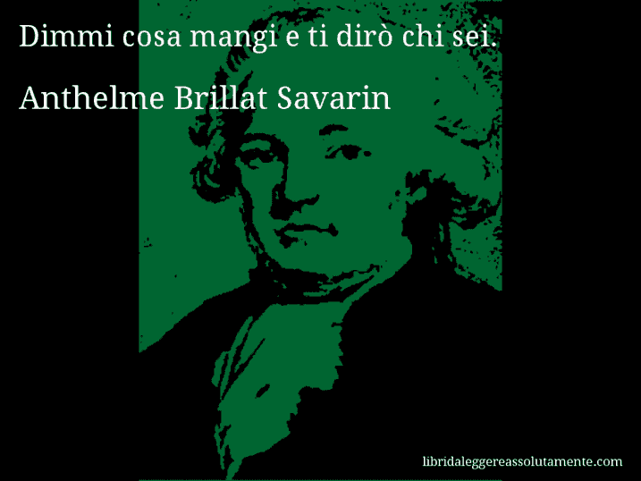 cartolina aforisma anthelme brillat savarin