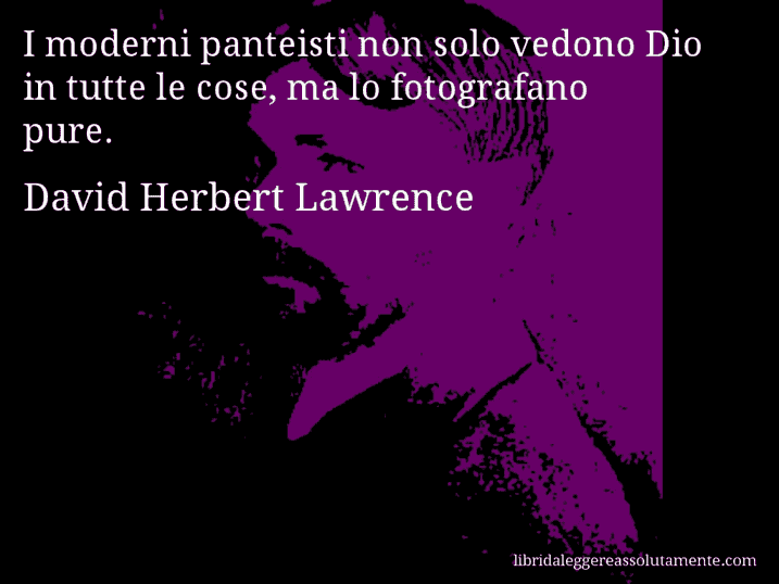 cartolina aforisma david herbert lawrence