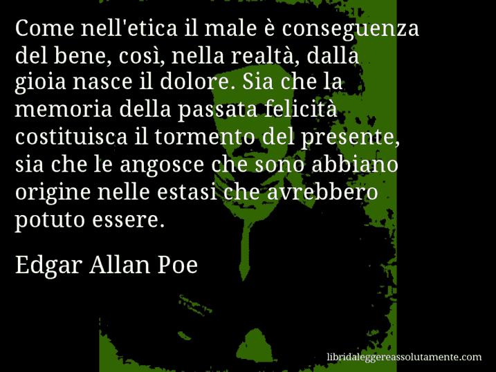 Frasi Famose Edgar Allan Poe.Aforismi E Citazioni Cartolina Con Aforisma Di Edgar Allan Poe 21
