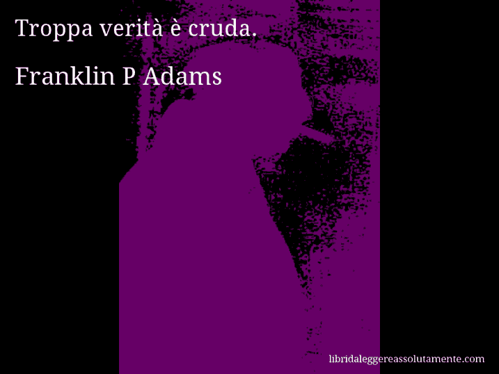 cartolina aforisma franklin p adams