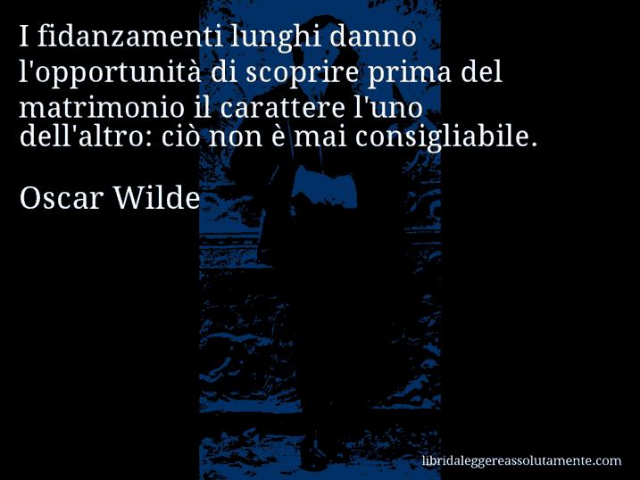 Auguri Matrimonio Oscar Wilde : Cartolina con aforisma di oscar wilde libri da